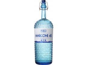 Marconi 42 Gin, Jacopo Poli, 42%, 0,7l