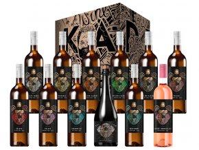 Kadrnka Power of Wine, limitovaná edice, 12x0,75l