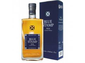 Blue Stamp Authentic Rum, Gift Box, 42%, 0,7l