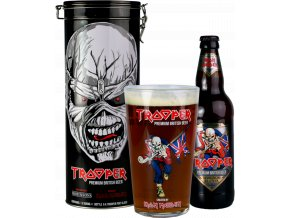 Trooper Iron Maiden Tin Gift box, 4,7%, 0,5l