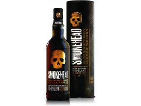Smokehead Islay, Gift box, 43%, 0,7l