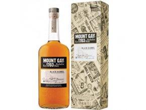 Mount Gay Black Barrel, Gift box, 43%, 1l
