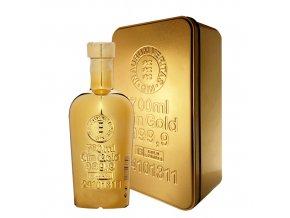 Gold 999,9 Gin, Golden Gift box, 40%, 0,7l