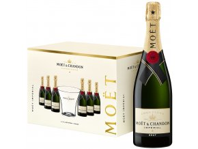 1061924 Moët & Chandon Pack 6 bottles + bucket 75cl