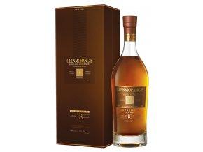 Glenmorangie 18 YO, Gift Box, 43%, 0,7l