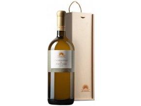 Chardonnay & Pinot gris, 2016, pozdní sběr, suché, Magnum v dřevěné kazetě, Sonberk, 1,5l