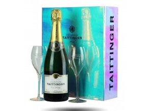 Screenshot 2021 09 20 at 11 44 15 Taittinger Brut Réserve (0,75l) v dárkové krabičce se skleničkami Blue Marine www vinot[...]