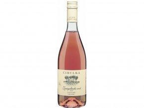 Zweigeltrebe rosé, 2020, pozdní sběr, suché, Cibulka, 0,75l