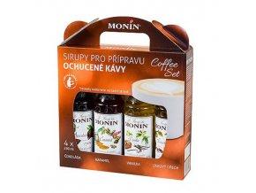 Monin Coffee box, 4x250ml