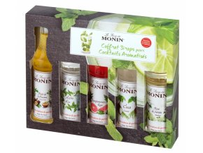 Monin Cocktail box, 5x50ml