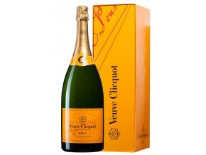 Veuve Clicquot Ponsardin Brut v dárkové krabičce, MAGNUM, 1,5l