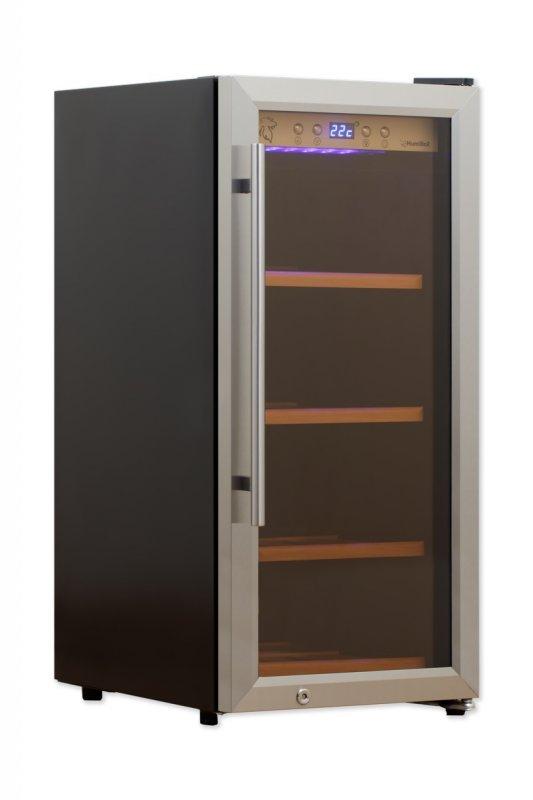 Chladnička na víno HumiBox US28 Steel
