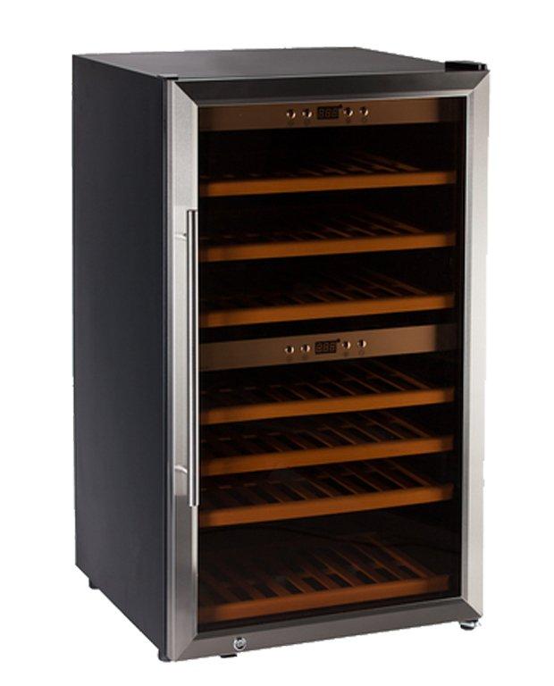 Chladnička na víno HumiBox Duo US66 Steel