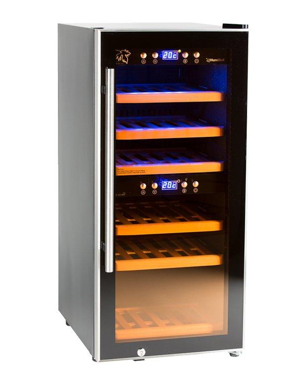 Chladnička na víno Humibox Duo US24 Dark