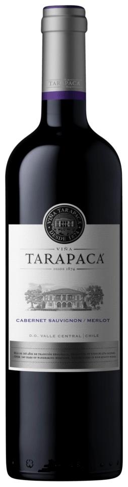 Vinařství Viňa Tarapacá Tarapacá, Cabernet sauvignon - Merlot, Varietal, 0,75l