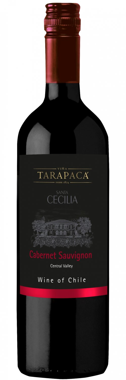 Vinařství Viňa Tarapacá Tarapacá Santa Cecilia, Cabernet sauvignon, 0,75l