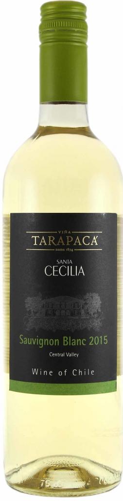 Vinařství Viňa Tarapacá Tarapacá Santa Cecilia, Sauvignon blanc, 0,75l