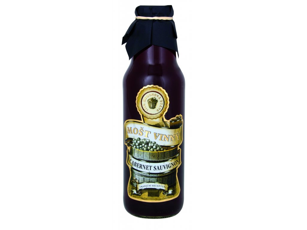 Vinný mošt - Cabernet sauvignon, Slovácká moštárna, 0,75l