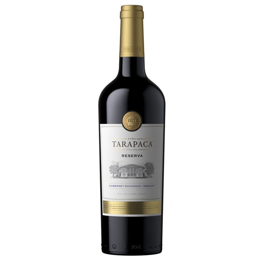 Vinařství Viňa Tarapacá Tarapacá, Cabernet sauvignon-Merlot, Reserva, 0,75l