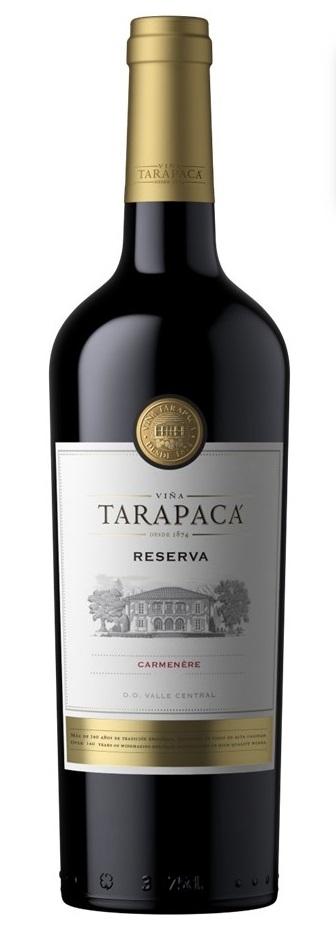Vinařství Viňa Tarapacá Tarapacá, Carmenére, Reserva, 0,75l