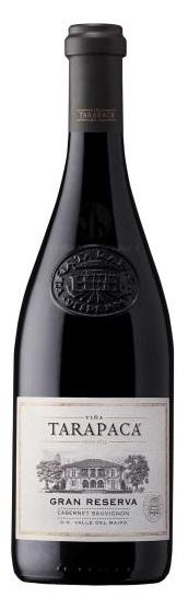 Vinařství Viňa Tarapacá Tarapacá, Cabernet sauvignon, Gran Reserva, 0,75l
