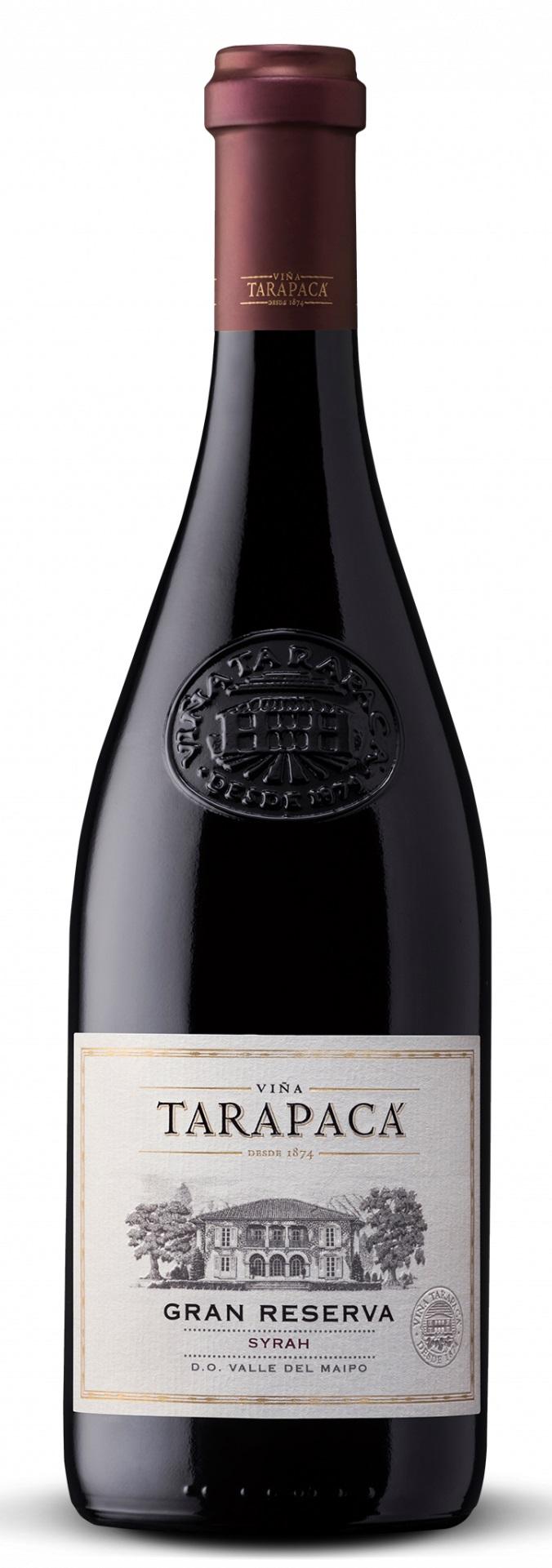 Vinařství Viňa Tarapacá Tarapacá, Syrah, Gran Reserva, 0,75l