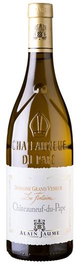 Châteauneuf-du-Pape BLANC Domaine Grand Veneur La Fontaine 2017, Alain Jaume, 0,75l