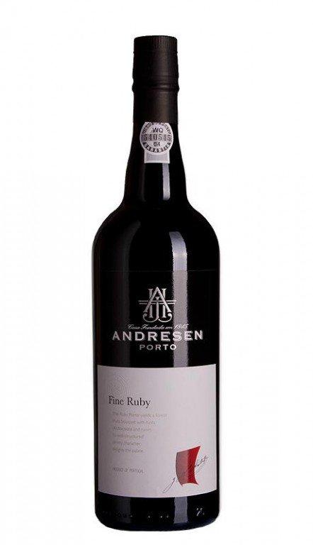 Andresen Porto J.H. Andresen Fine Ruby Port, 0,75l