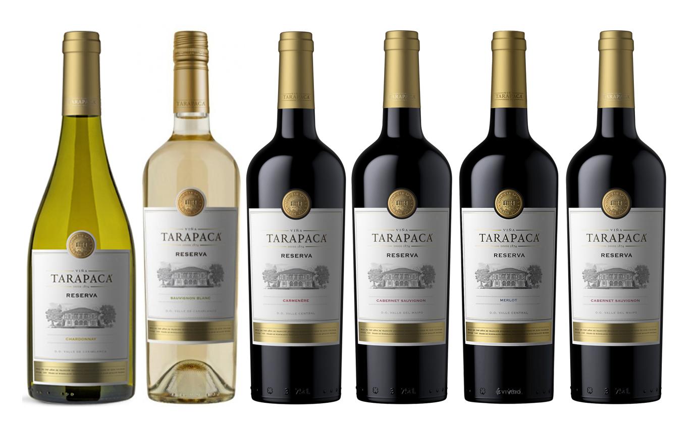 Vinařství Viňa Tarapacá Degustační balíček Tarapacá Reserva