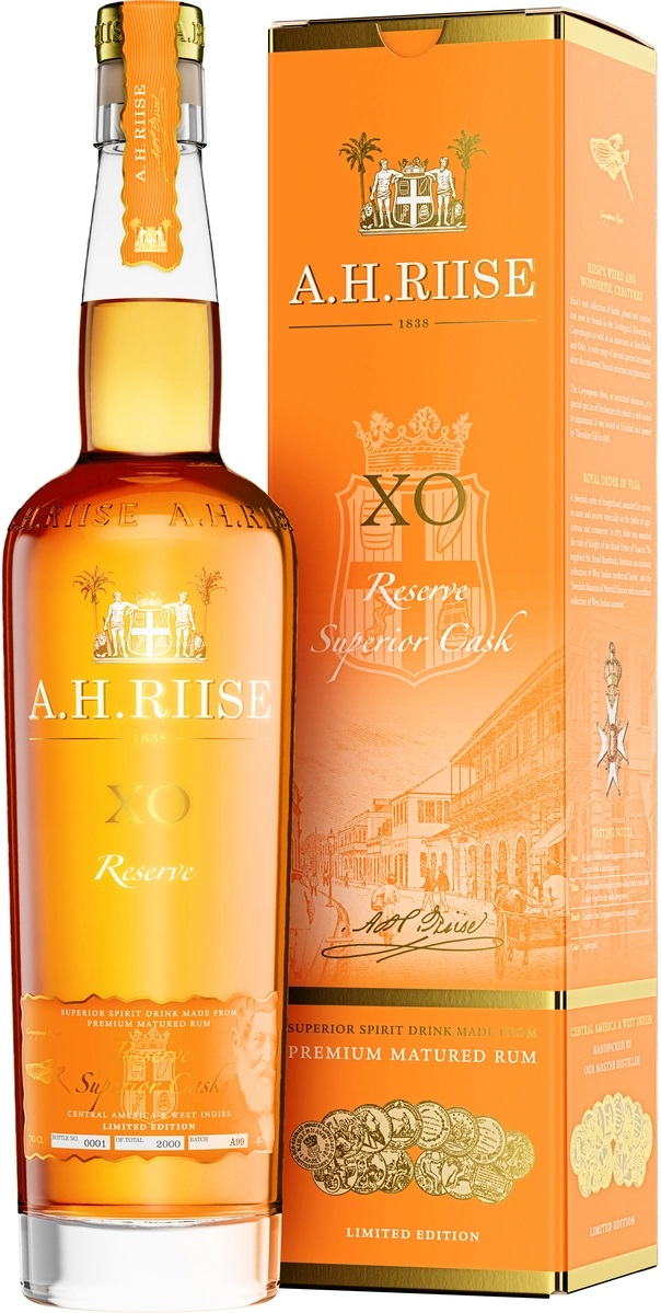A.H.Riise XO Reserve Rum, 40%, 0,7l