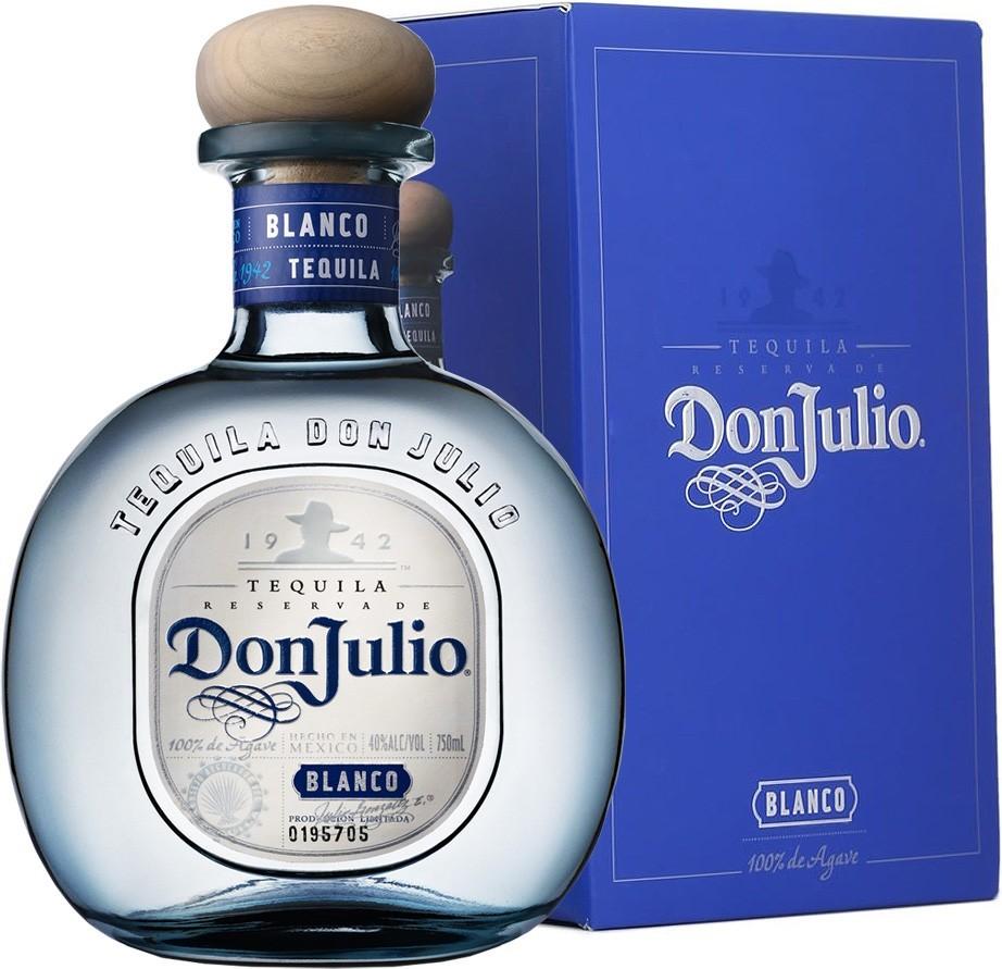 Don Julio Blanco, Gift Box, 38%, 0,7l