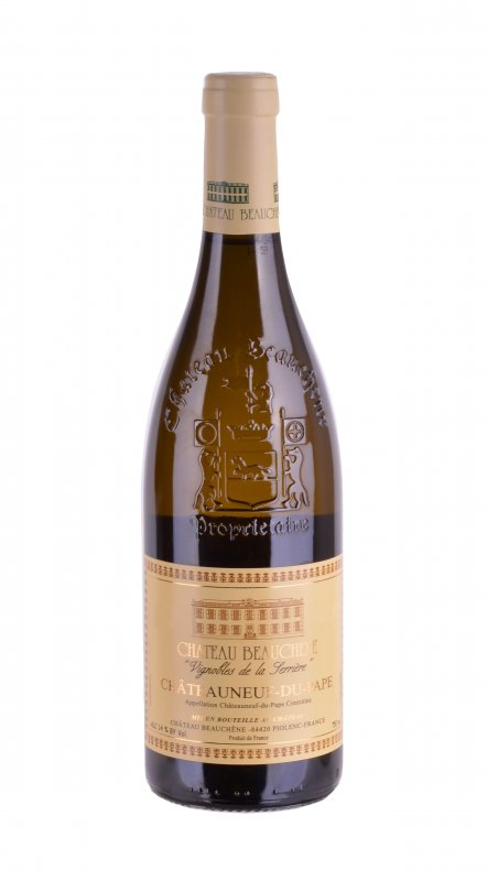 Chateauneuf-du-Pape blanc Vignobles de la Serriere 2018, Chateau Beauchene, 0,75l