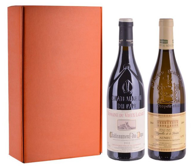 Sada 2 vín - Châteauneuf-du-Pape, 2x0,75l