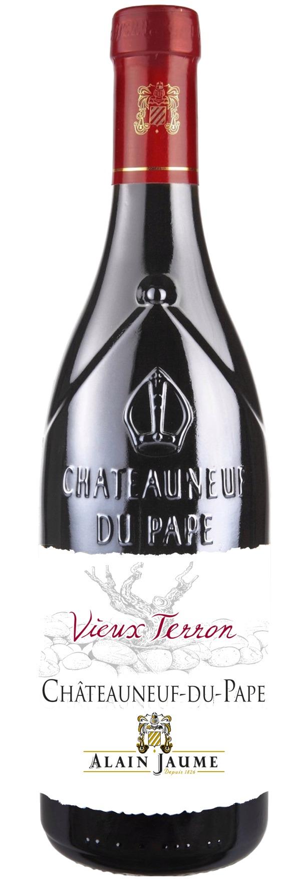 """Châteauneuf-du-Pape Domaine Grand Veneur """"Vieux Terron"""" 2017, Alain Jaume, 0,75l"""