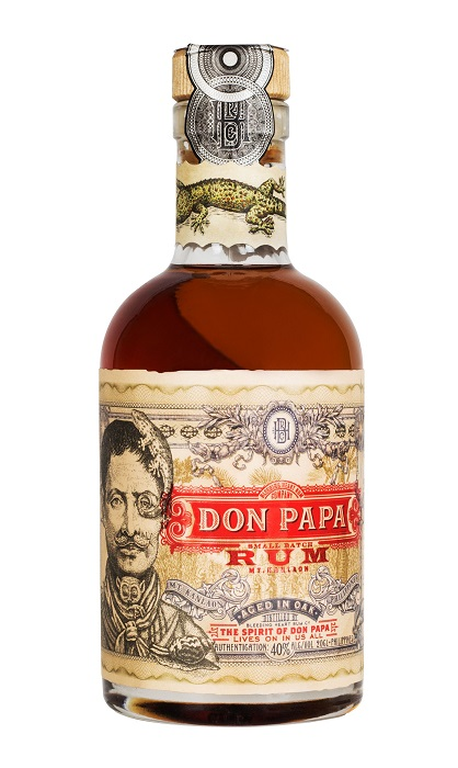 Don Papa Rum, miniatura, 40%, 0,2l