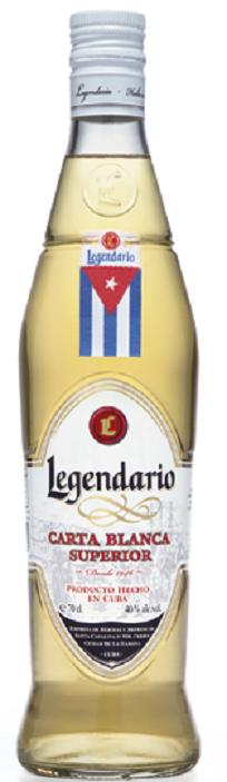 Legendario S.L. Legendario Carta Blanca Superior, 40%, 0,7l