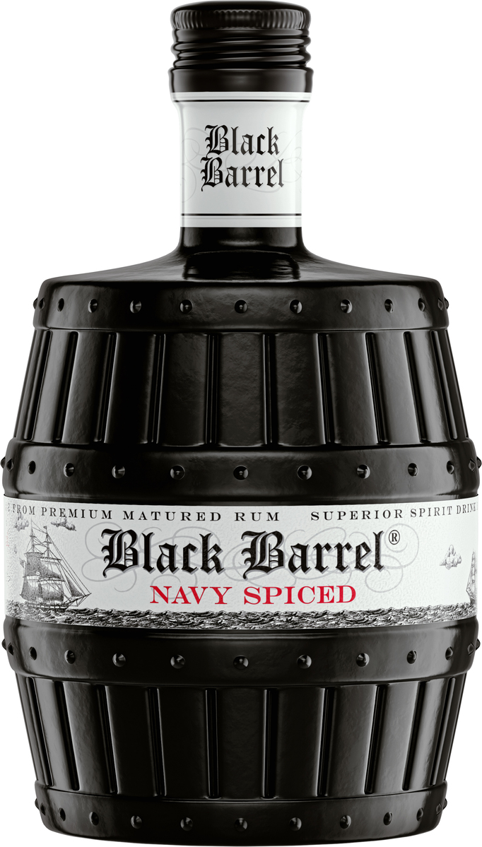 A.H.Riise Black Barrel Navy Rum, 40%, 0,7l