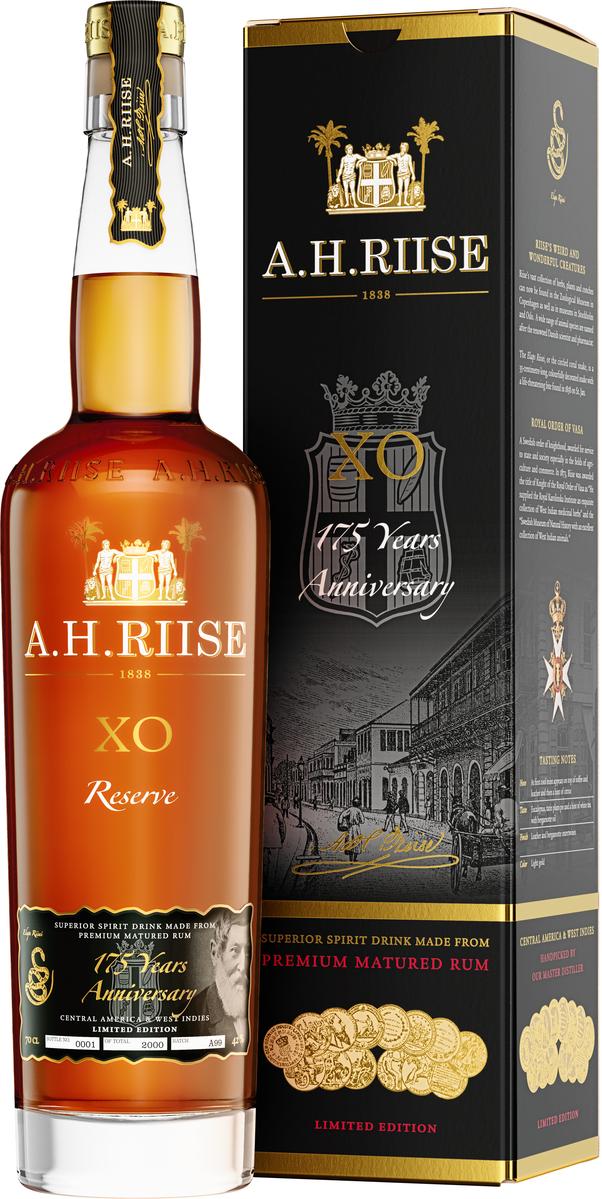 A.H.Riise XO Reserve Anniversary 175 YO Rum, 42%, 0,7l