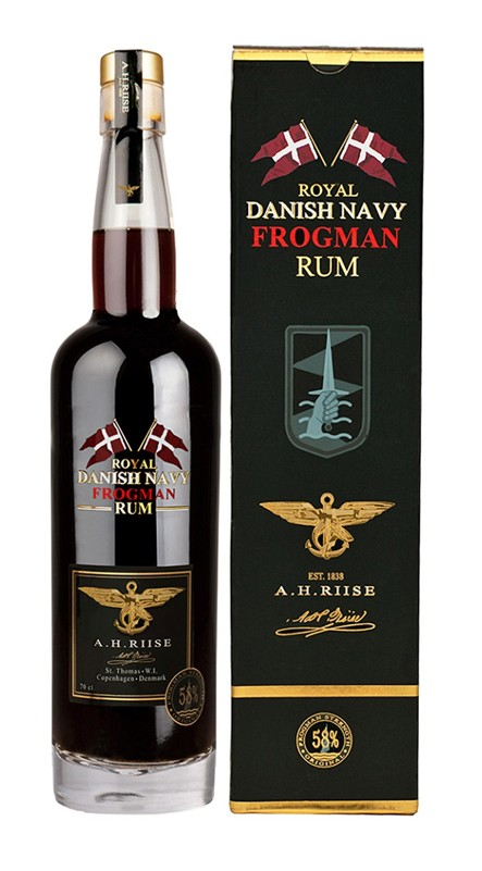 A.H.Riise Frogman Rum, 58%, 0,7l