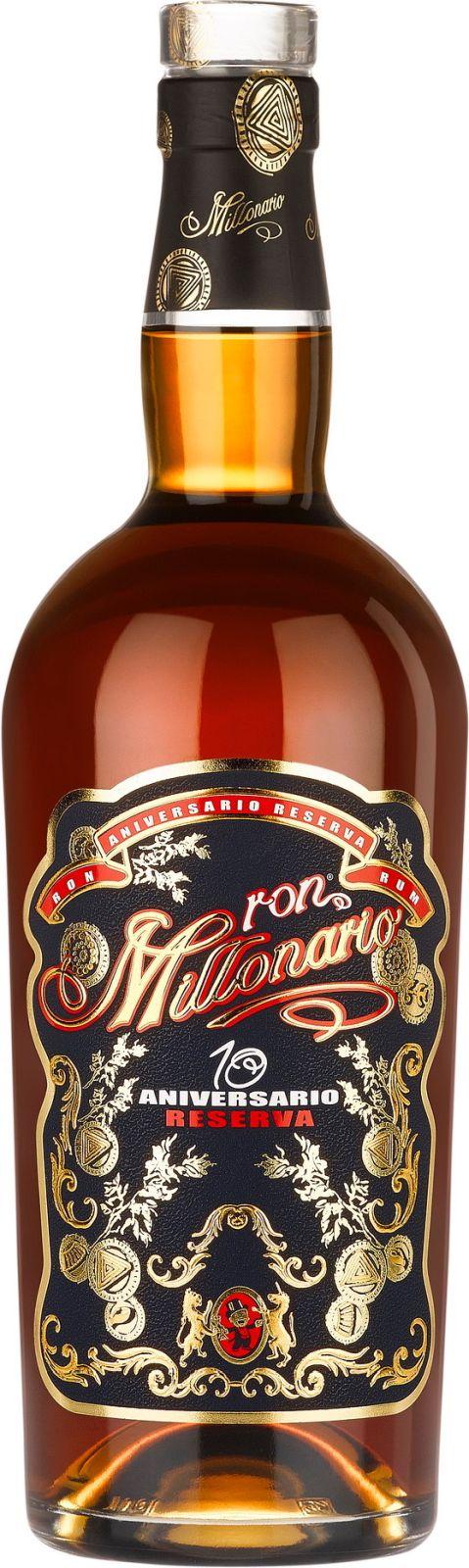 Millonario 10 Aniversario Reserva Rum, 40%, 0,7l