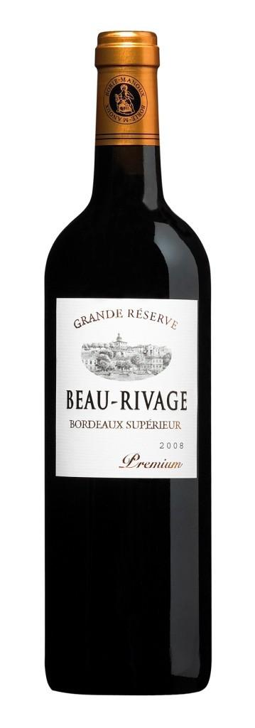 Borie Manoux Bordeaux rouge - Beau Rivage Premium Grande reserve 2017, 0,75l