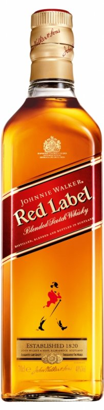 Johnnie Walker Red Label, 40%, 0,7l