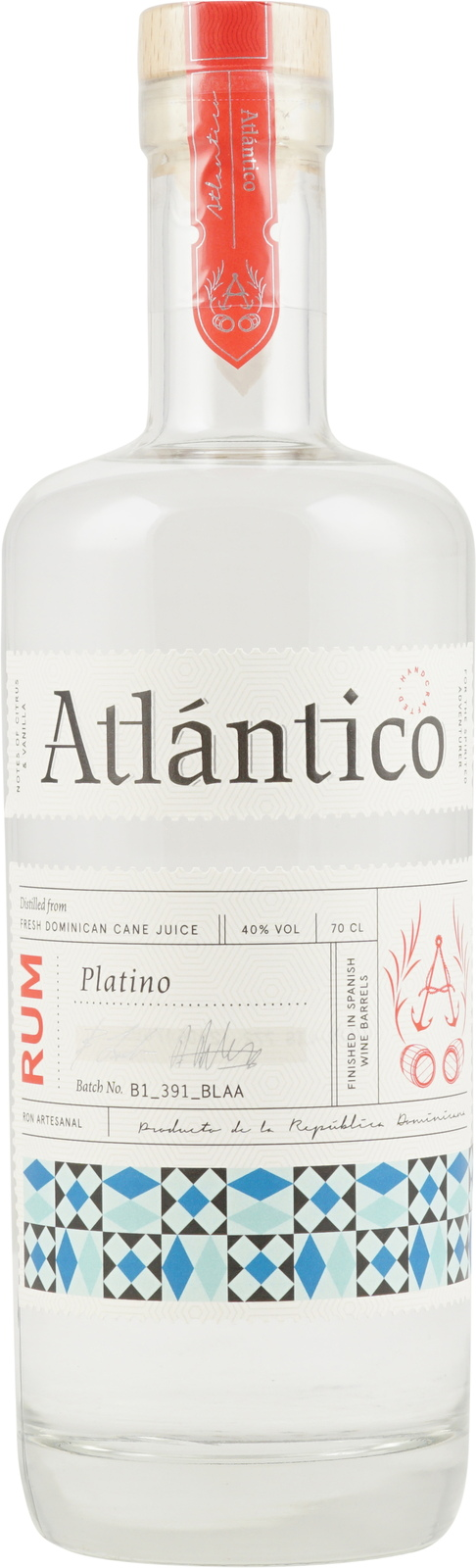 Atlantico CO Ron Atlantico Platino, 40%, 0,7l