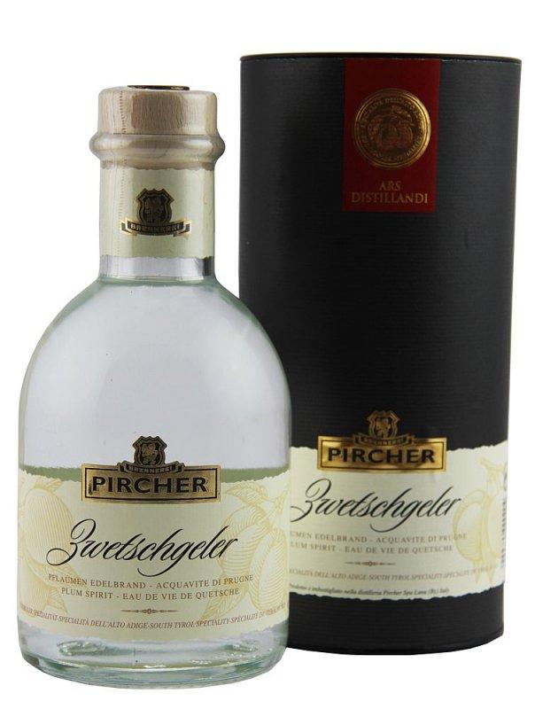 Pircher Zwetschgeler, dárkové balení, 0,7l