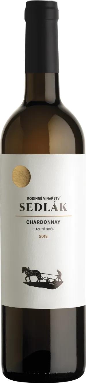 Vinařství Sedlák Chardonnay, 2019, pozdní sběr, suché, Sedlák, 0,75l