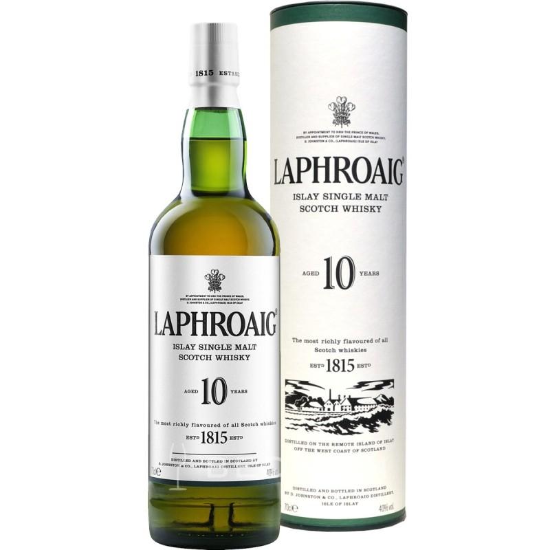 Laphroaig whisky 10 YO, 40%, 0,7l