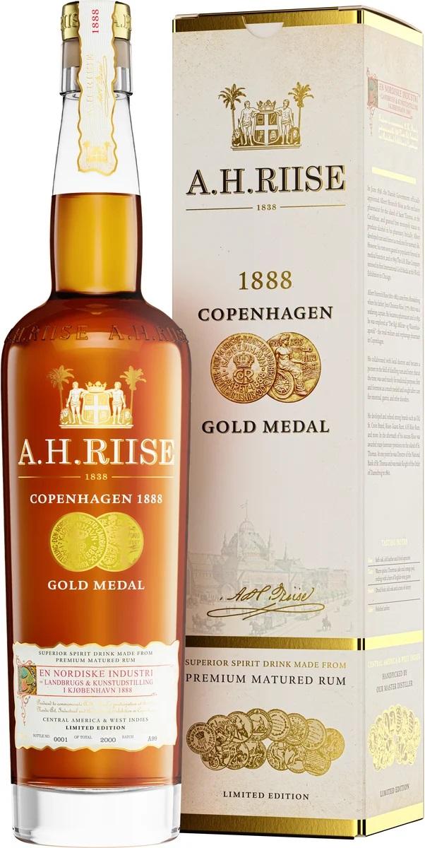 A.H.Riise 1888 Copenhagen Gold Medal Rum, 40%, 0,7l