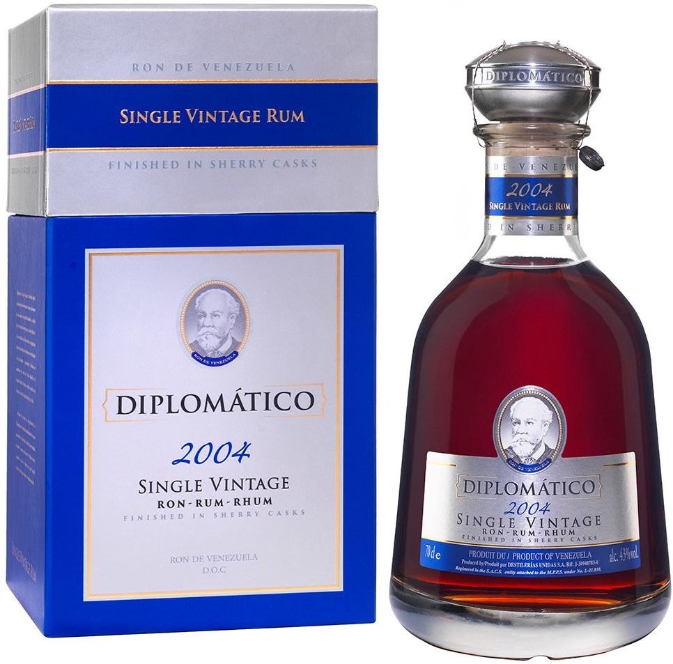 Diplomatico Single Vintage 2004, 0,7l