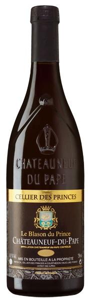 Cellier des Princes Châteauneuf-du-Pape Le Blason du Prince, 2014, 0,75l