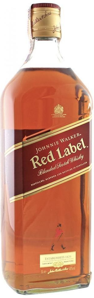 Johnnie Walker Red Label, 40%, 3l